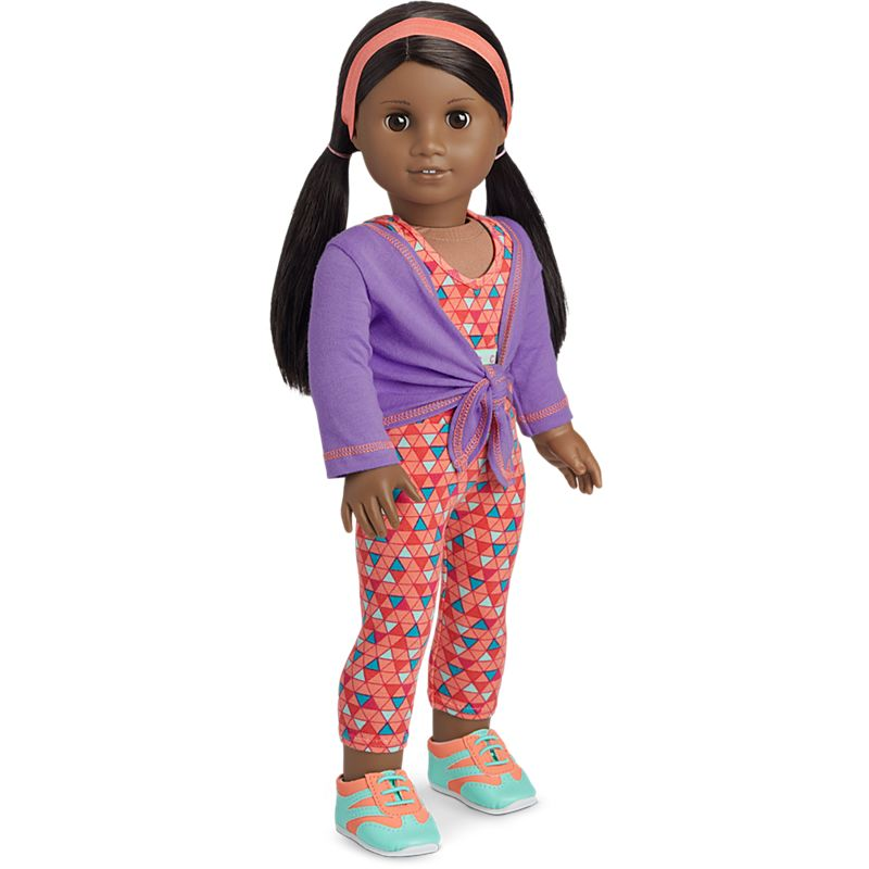 American Girl Cheer Practice Outfit for 18-inch Dolls