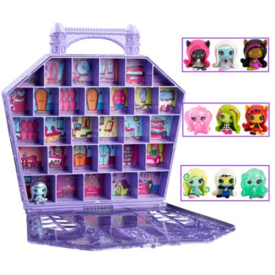 Monster High Minis + Collector Case Gift Set