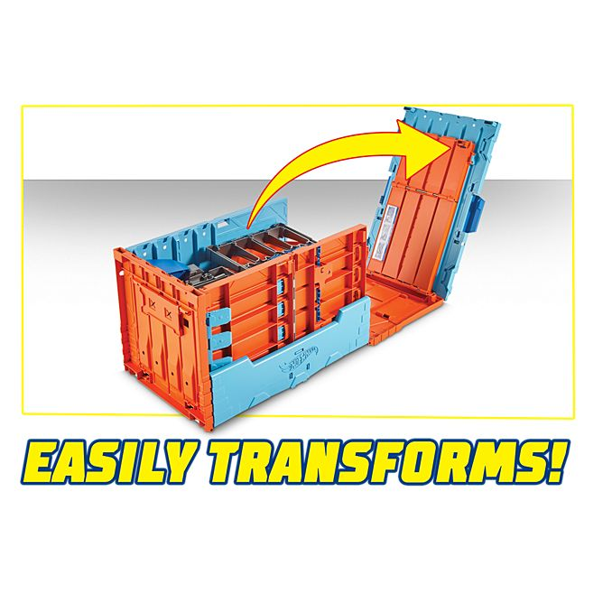 Hot Wheels Track Builder System Race Crate   FTH77   Hot Wheels
