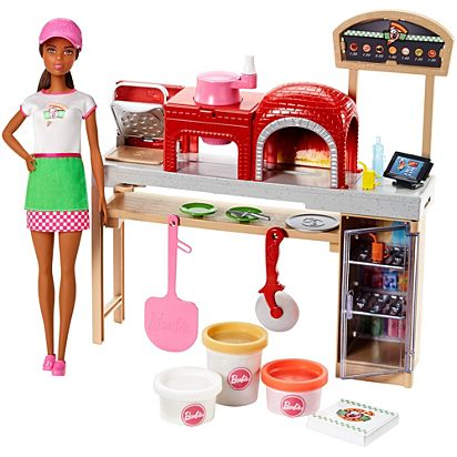 Barbie® Pizza Chef Doll And Playset