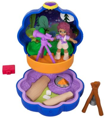 Polly Pocket Out of Sight Campsite Compact