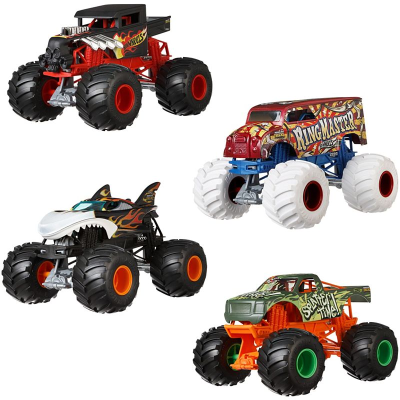 Hot Wheels Monster Trucks 1 24 Collection Fyj83 Mattel