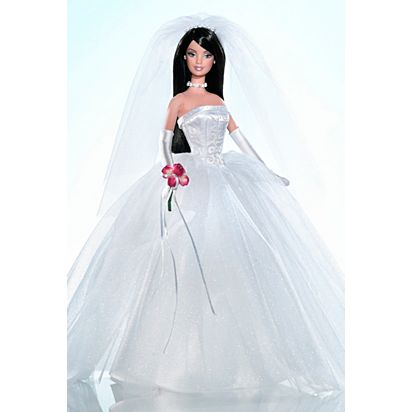 David S Bridal Unforgettable Barbie Doll G2890 Barbie