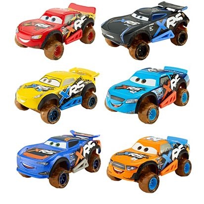 Disney Pixar Cars Xrs Mud Racing Vehicle Assortment Gbj35 Mattel