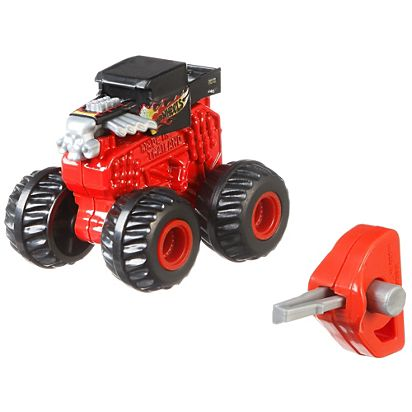 Hot Wheels Monster Trucks Mini Collection Gbr24 Mattel