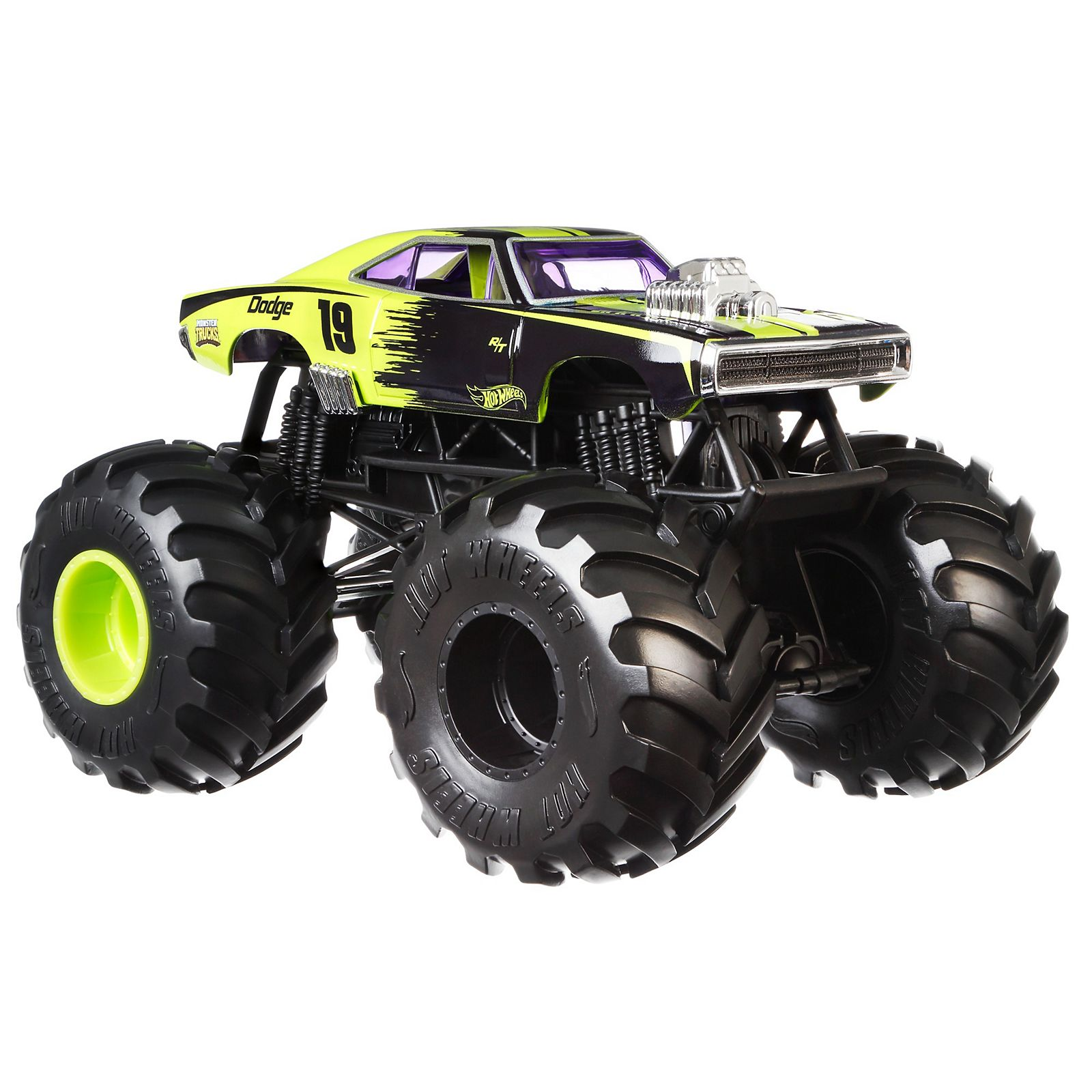 Hot Wheels Monster Trucks Dodge Charger R T Vehicle Hot Wheels
