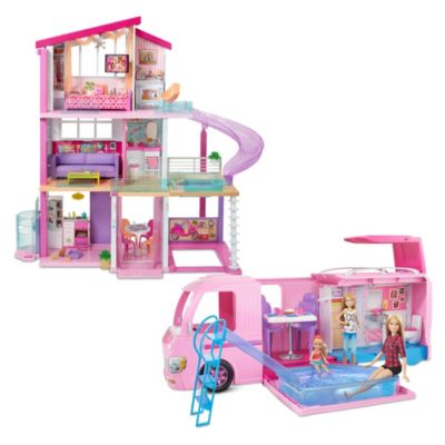 Barbie Home and Camper Gift Set