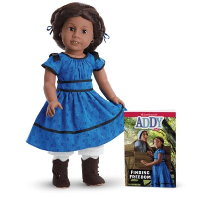 Doll Not Included American Girl Addy Outfit New 2014 Blue Mattel