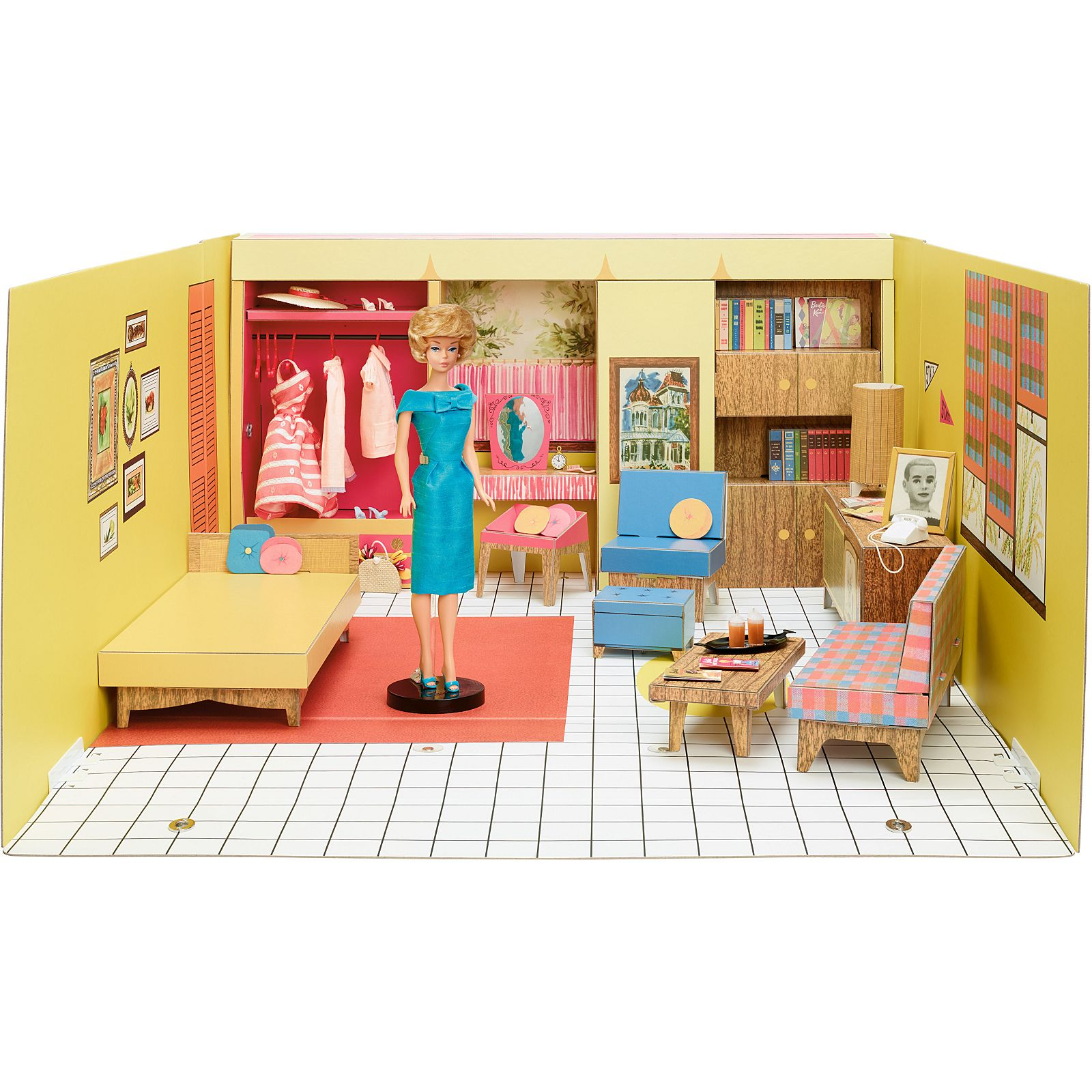 Barbie Dream House 1962 Repro Barbie