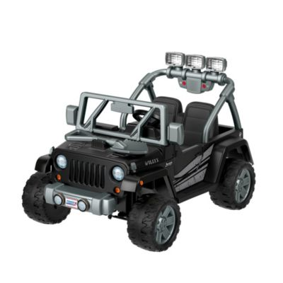 Power Wheels Jeep Wrangler Willys Ride On Fisher Price