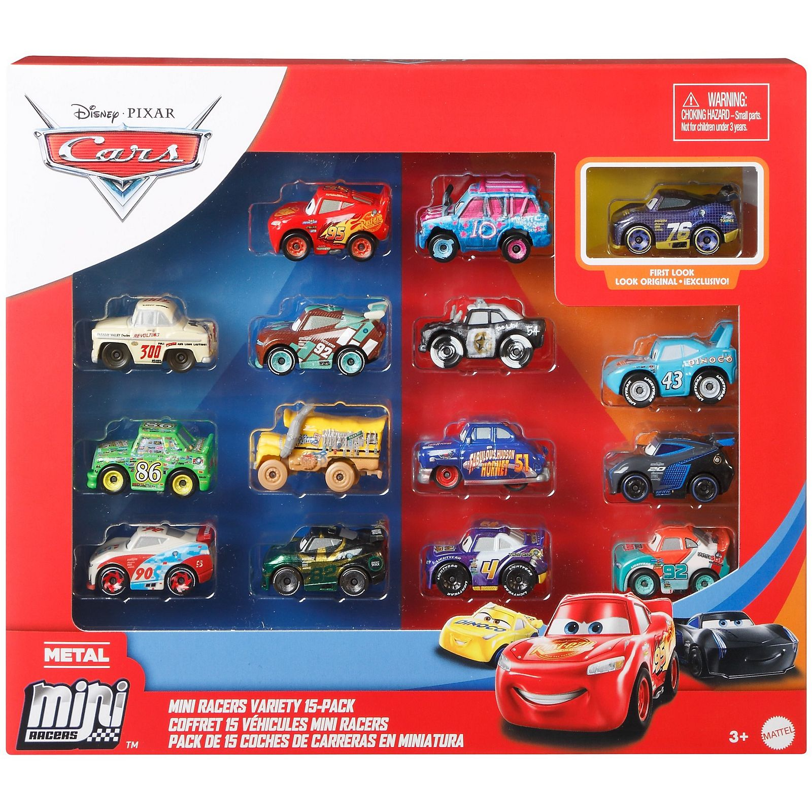 Disney Car Micro Racers 15 Pack Mattel