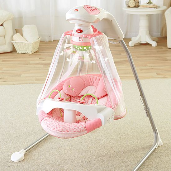 Butterfly Cradle Swing Fisher Price