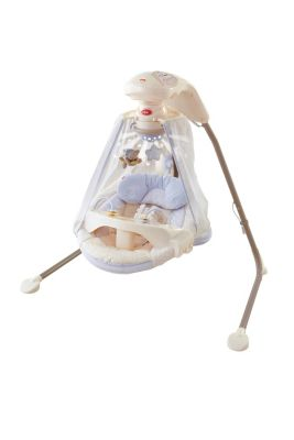 Cradle N Swing Starlight Papasan Fisher Price