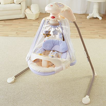 Starlight Papasan Cradle Swing K7924 Fisher Price