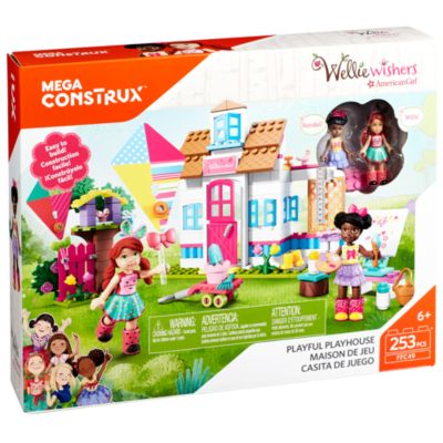 Mega Construx American Girl Willa and Kendalls Playful Playhouse