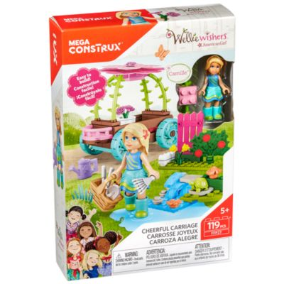 Mega Construx American Girl: Camilles Cheerful Carriage