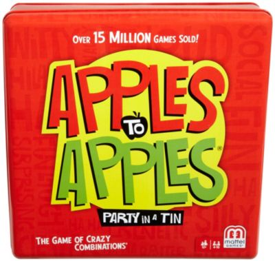 APPLES to APPLES Party Box Tin  The Game of Hilarious Comparisons!