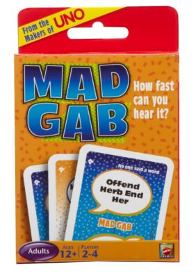 Mad Gab Picto Card Game