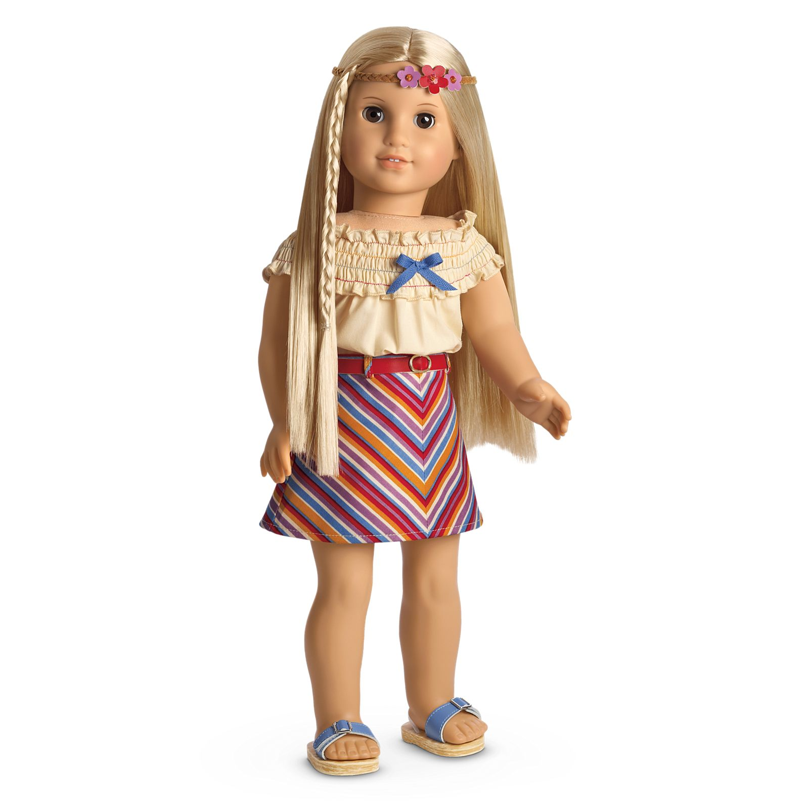 NEW American Girl Doll HAPPY BIRTHDAY OUTFIT top shirt skirt shoes for Truly Me