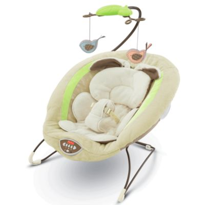 My Little Snugabunny Deluxe Bouncer Fisher Price
