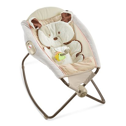 b6a71bb4939 My Little Snugapuppy Deluxe Newborn Rock  n Play Sleeper