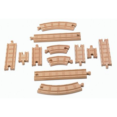 Thomas Friends Wooden Railway Straight Curved Expansion Pack
