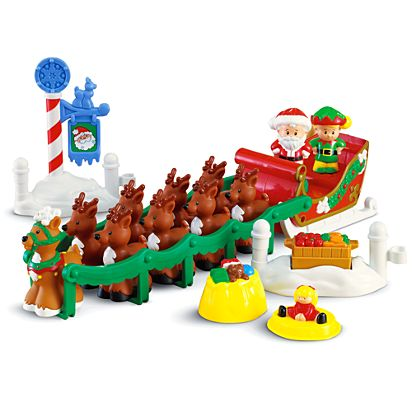 Little People Twas The Night Before Christmas Story Set