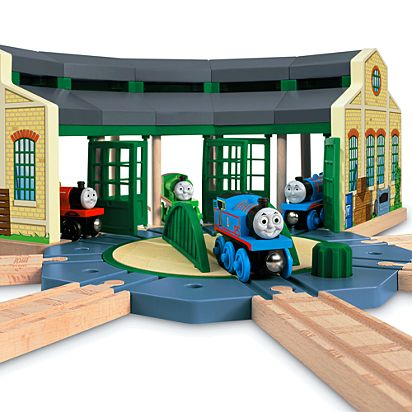 Amazing Thomas Friends Wooden Railway Tidmouth Sheds Home Remodeling Inspirations Genioncuboardxyz