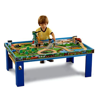 Image For WR WOOD TABLE From Mattel