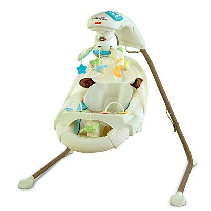 My Little Lamb Cradle N Swing Y5708 Fisher Price