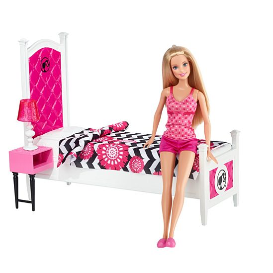 Barbie® Doll and Deluxe Bedroom | CFB60 | Barbie