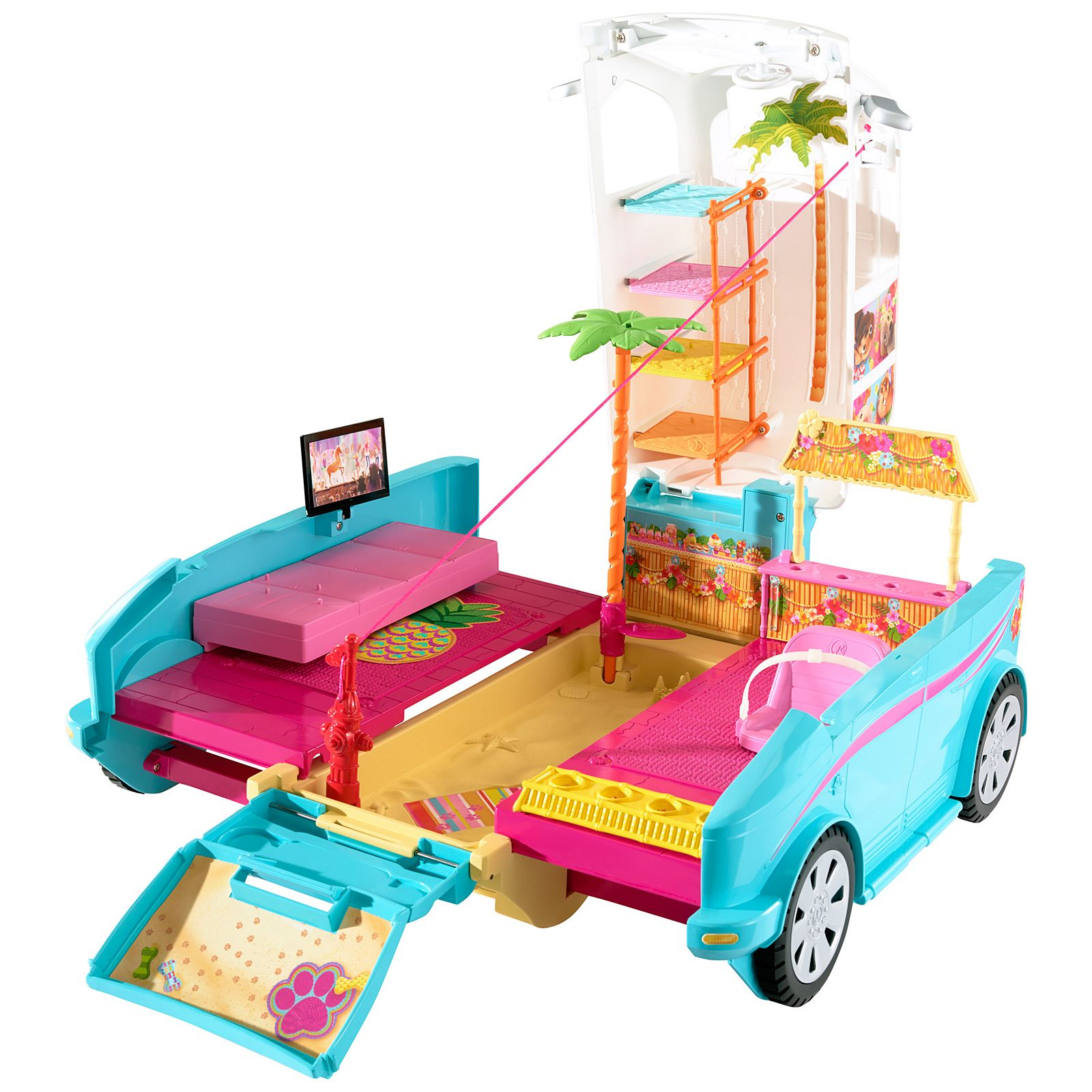 Barbie Ultimate Puppy Mobile Dly33 Barbie