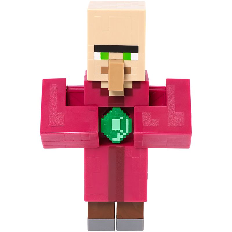 Minecraft Basic Action Figures Series 2 Villager With Emerald